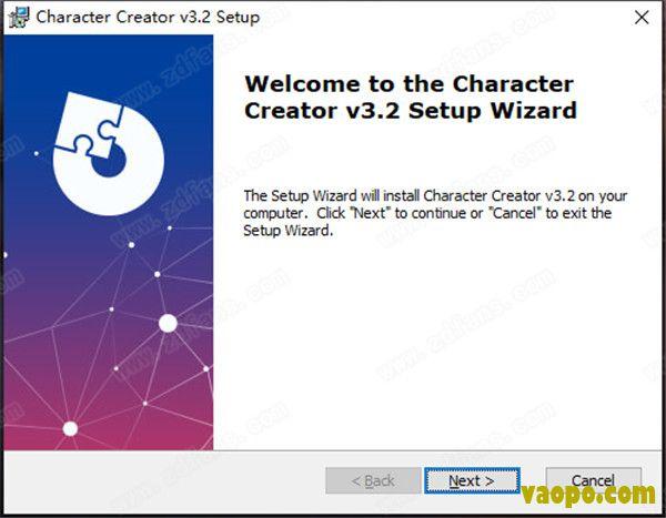 Reallusion Character Creator 3安装图1