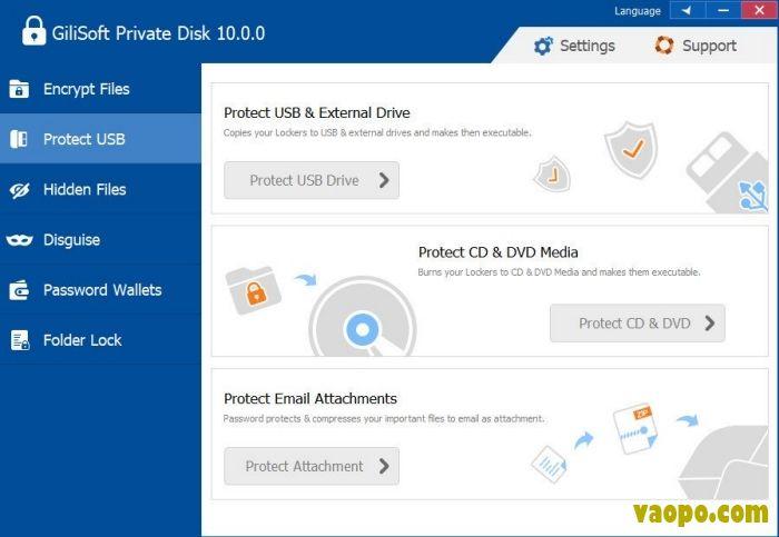 GiliSoft Private Disk