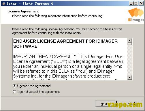 IdImager Photo Supreme安装教程图2