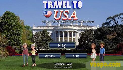 美国旅行(Travel To USA)中文汉化版