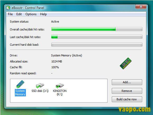 U盘变内存(eBoostr Pro) V4.0.build.544 破解版下载