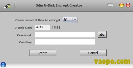 u盘 闪存驱动器加密工具(odin u-disk encrypt creator) v6.5.4下载