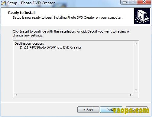 Photo DVD Creator安装图4