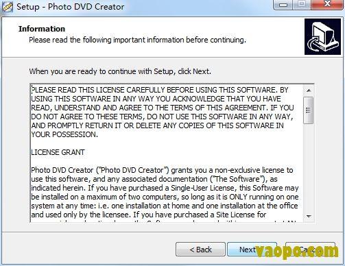Photo DVD Creator安装图2