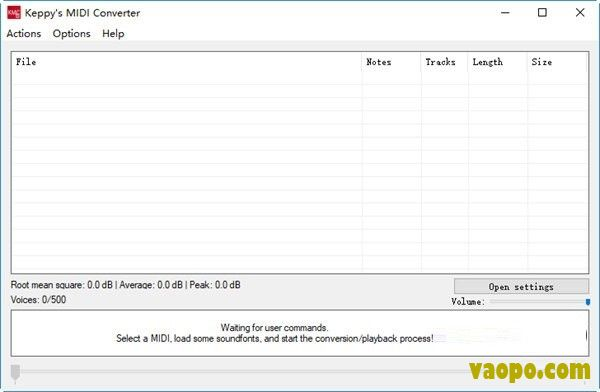 MIDI<a href=http://www.vaopo.com/tag/yinpinzhuanhuangongju/ target=_blank class=infotextkey>音频转换工具</a>