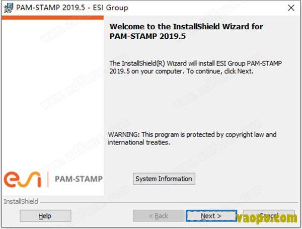 ESI PAM-STAMP钣金成型分析软件安装图1