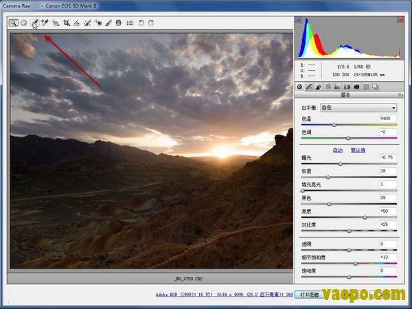 camera raw 12.3中文版