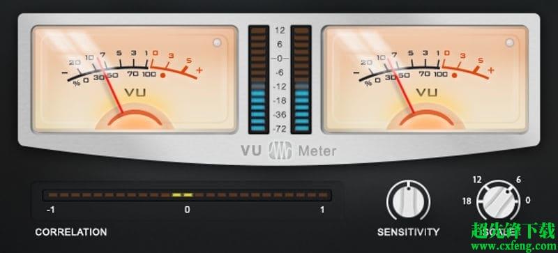 PreSonus VU Meter下载|电平测量程序PreSonus VU Meter v1.0.5 官方版下载