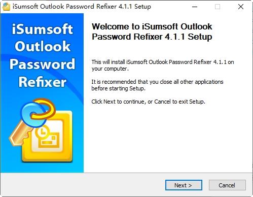 iSumsoft Outlook PasswordRefixer
