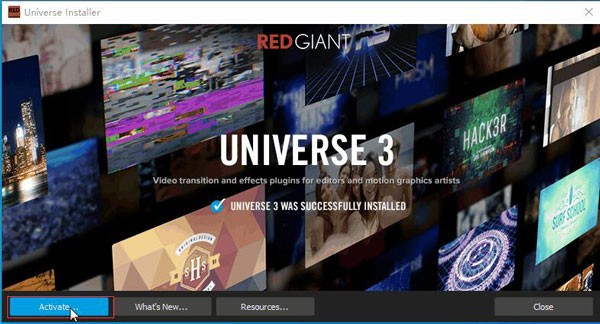 Red Giant Universe中文版