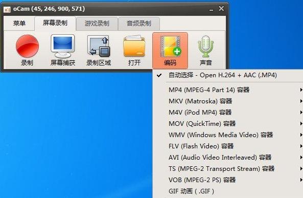 win系统录屏软件