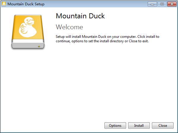 Mountain Duck便携版预览图