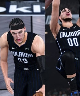 NBA 2K21魔术队阿隆戈登身形MOD