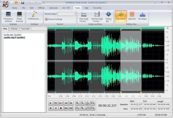 免费音频编辑软件截图1