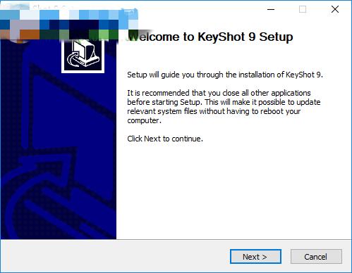 Keyshot10安装1