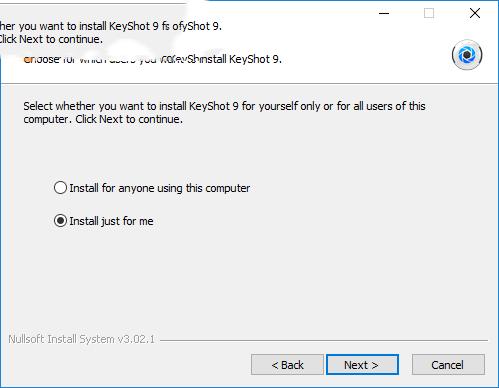 Keyshot10安装3