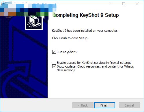 Keyshot10安装6