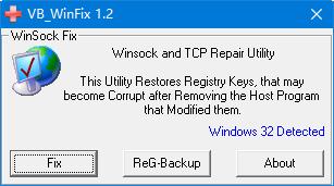 WinsockxpFix修复工具