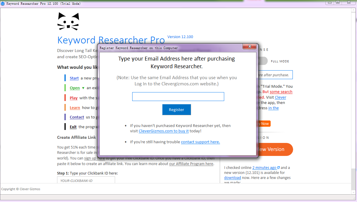 Keyword Researcher Pro主要功能