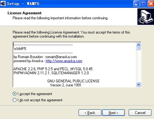 WAMP5安装方法2