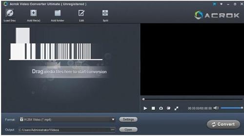 Acrok Video Converter破解版基本介绍