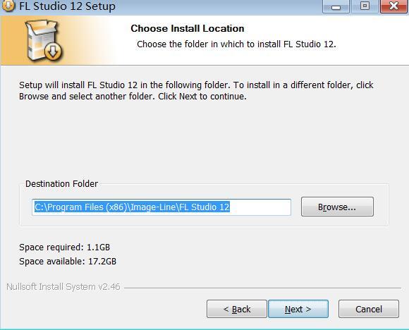 FL Studio安装5