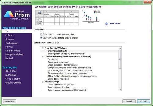 GraphPad Prism 9破解版基本介绍