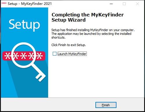 MyKeyFinder2021绿色版基本介绍