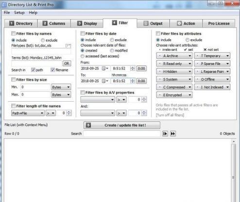 Directory List&Print Pro
