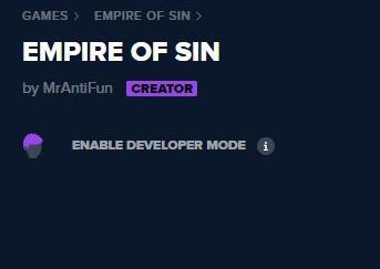 罪恶帝国开启控制台工具
