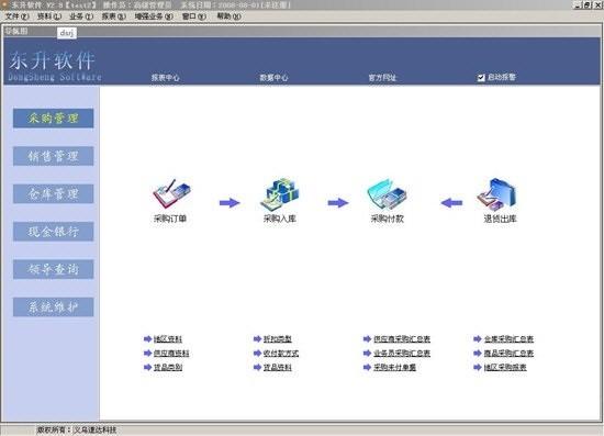 东升商务通管理系统最新版