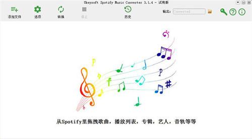 UkeySoft Spotify Music Converter功能特点