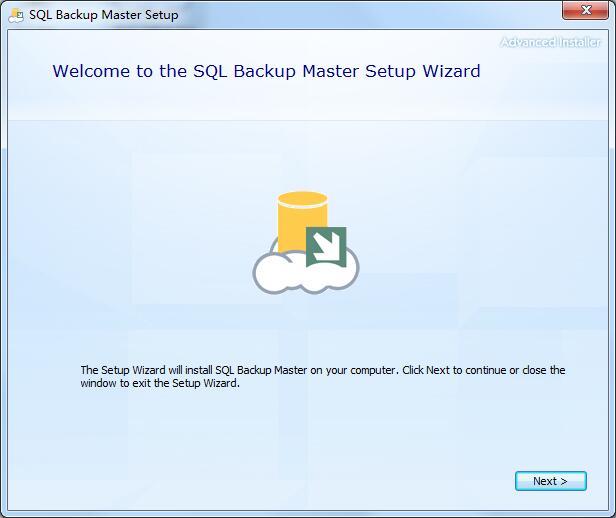 SQL Backup Master安装方法1
