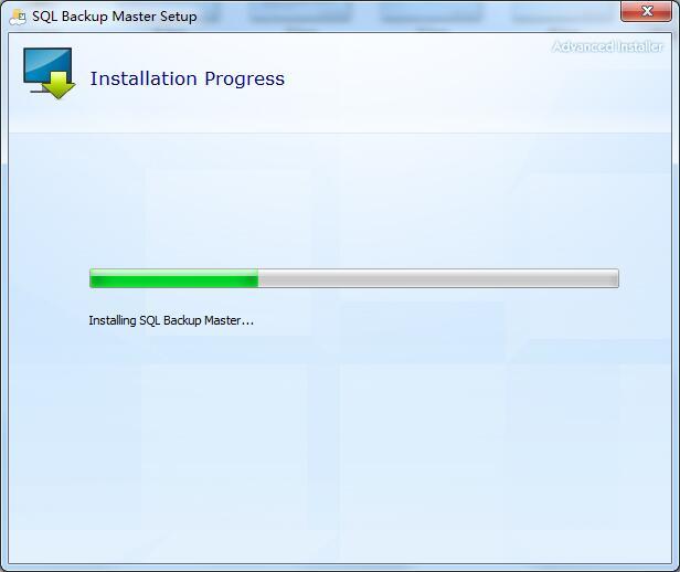 SQL Backup Master安装方法5