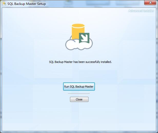 SQL Backup Master安装方法6