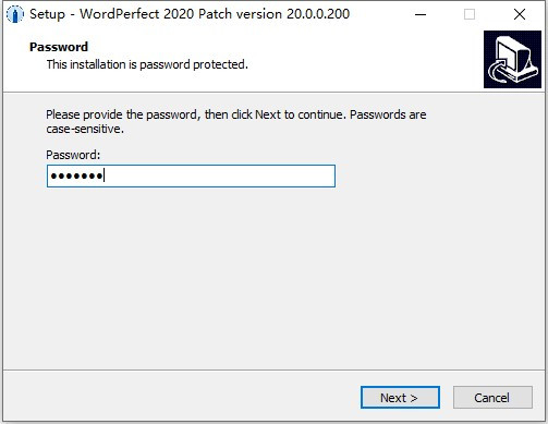 WordPerfect Office Standard安装破解教程7