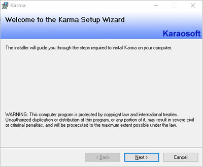 Karma 2021破解版截图3