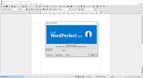 WordPerfect Office Standard