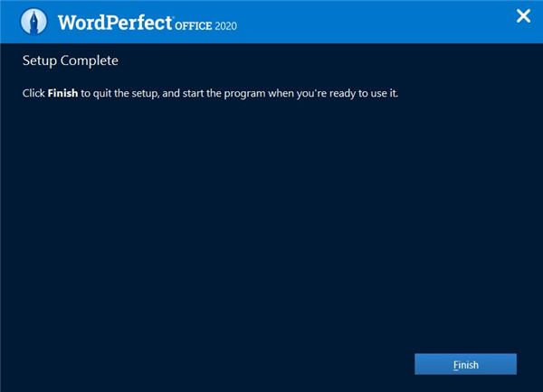 WordPerfect Office Standard安装破解教程6