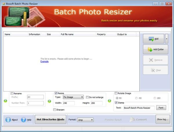 图像批处理软件截图1