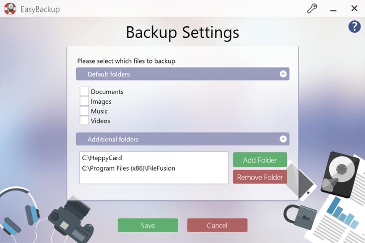 Abelssoft EasyBackup下载截图1