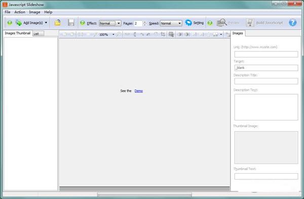 Javascript幻灯片制作软件截图1