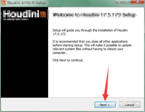 Houdini安装教程2