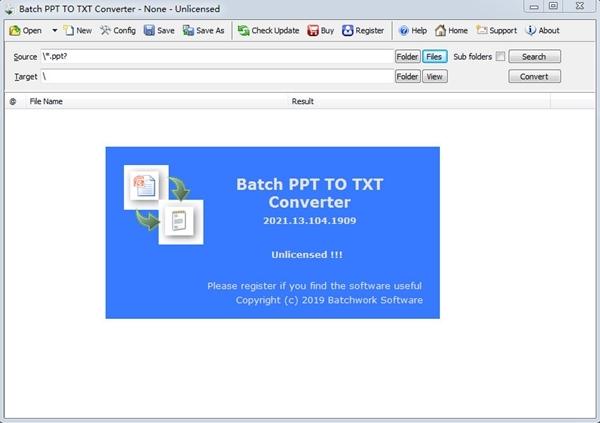 Batch PPT to TXT Converter下载截图1
