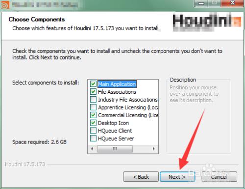 Houdini安装教程4