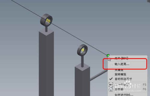 inventor2014中管道布线3
