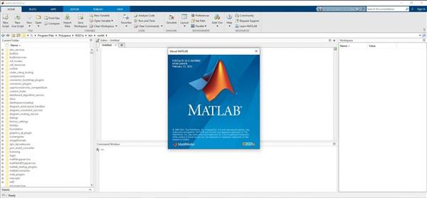 MathWorks MATLAB R2021a