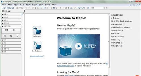 Maple2021破解版