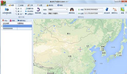 电子地图标注系统破解版