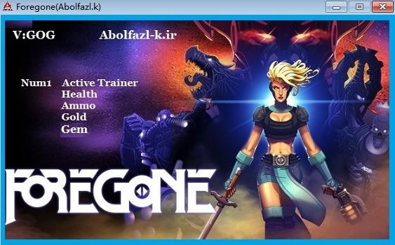 Foregone四项修改器下载截图1